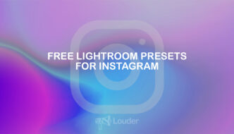 Free lightroom presets for instagram