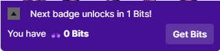 Twitch bits for watching ads (step 2)